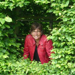 Fiet van Beek, Dichteres in de Prinsentuin