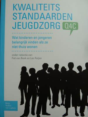omslag publicatie Fiet van Beek Kwaliteits standaarden jeugdzorg