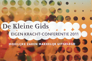 Omslag Publicatie De kleine gids Eigen Kracht-conferentie 2011