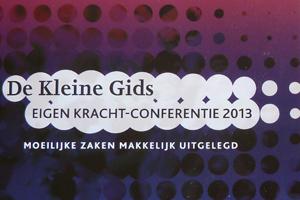Omslag Publicatie De kleine gids Eigen Kracht-conferentie 2013